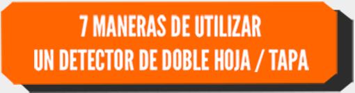 7 MANERAS DE UTILIZAR UN DETECTOR DE DOBLE HOJA / TAPA