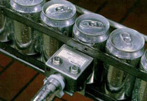 Sensores para las líneas de llenado de latas